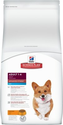 Hill's Science Plan для взрослых собак малых пород, Canine Adult Advanced Fitness Mini with Chicken