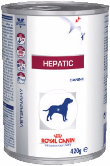 Royal Canin Hepatic консервы влажный корм диета для собак при заболеваниях печени